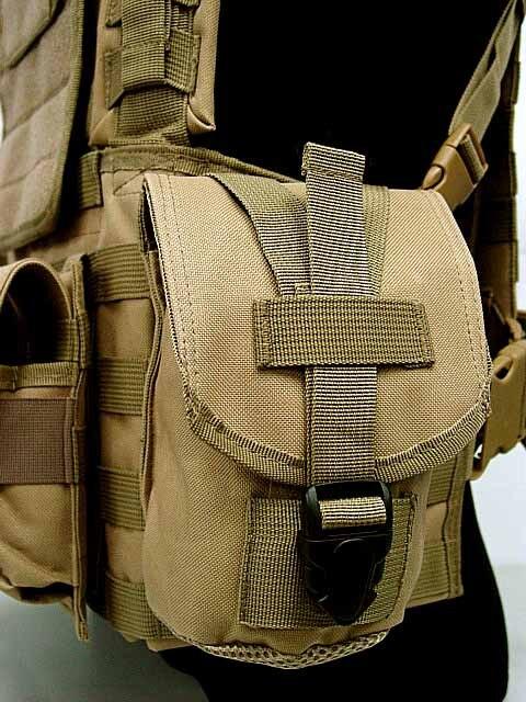 3 litres de sac à eau militaire USMC tactique Combat Molle RRV poitrine plate-forme Paintball harnais Airsoft gilet Multicam - 3