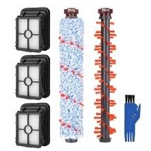 Hot!! 1 Multi Oberfläche 1868 Pinsel Rolle + 1 Teppich Pinsel Rolle 1934 + 3 1866 Vakuum Filter für Bissell Crosswave 1785 2306 serie