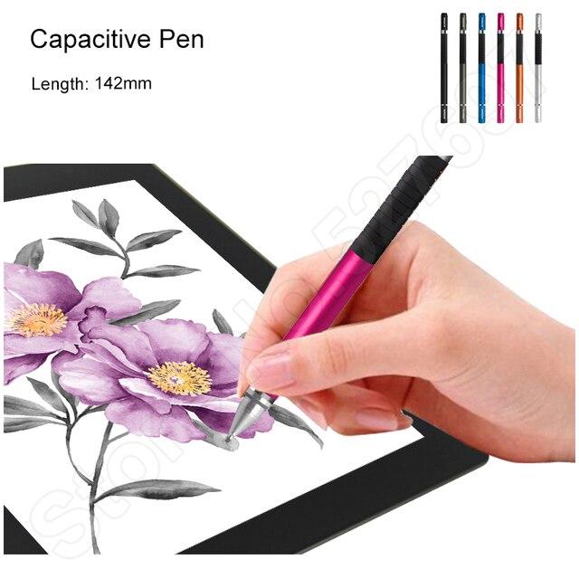 Подарок Красочные Tablet Емкостный Ручка Живопись Ручка Stylus Тончайший Глава Высокая Точность Сенсорного Пера 142 мм для Pad Phone Tablet
