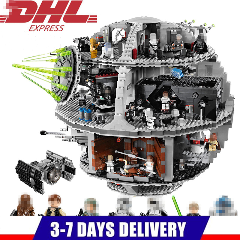 LELE Star Wars Death Star STARWARS Building Blocks Sets Bricks Classic Model Kids Toys Marvel Compatible Legoings lepin star wars millennium falcon special forces fighter starwars building blocks sets bricks classic model compatible legoings