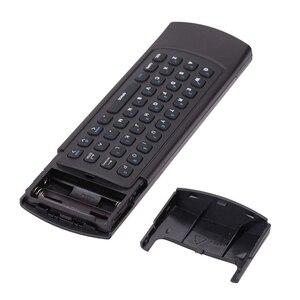 Image 5 - MX3 портативный 2,4G беспроводной пульт дистанционного управления клавиатура управление ler Air Mouse для Smart TV Android TV box mini PC HTPC black