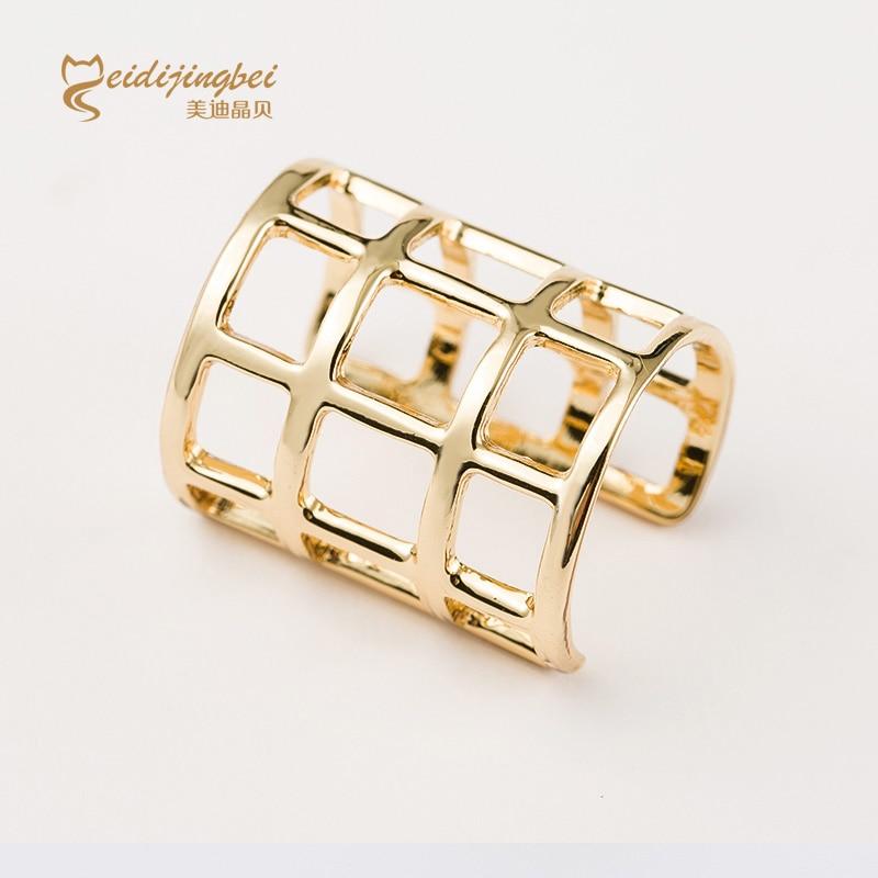 Online Shop Open rings for women zinc alloy gold/silver color ...