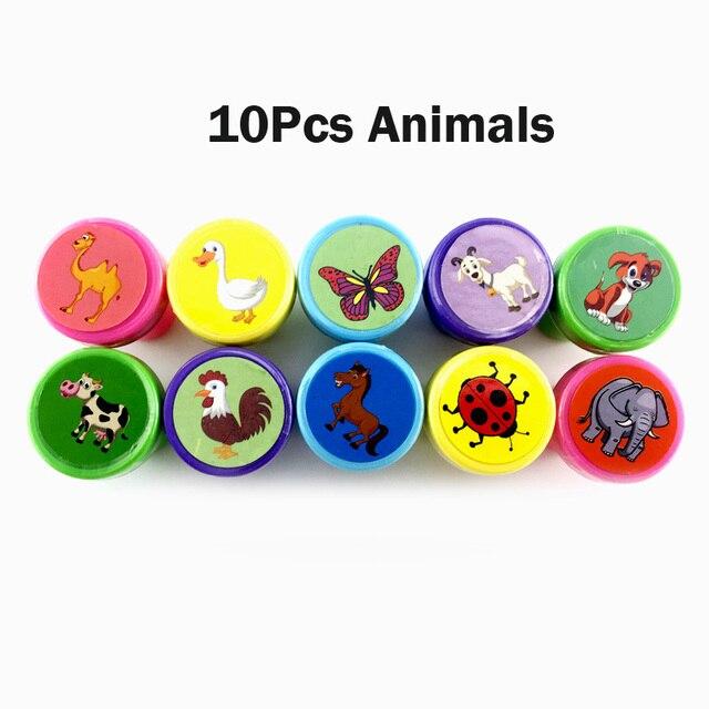 10Pcs animals