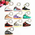 Cute Lebron 10 Keychain, Silicone Sneaker Key Chain Key Ring Key Holder for Woman and Girl Gifts