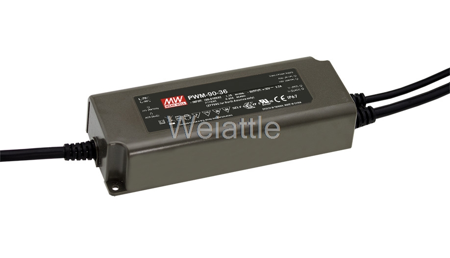 цена на [Cheneng]MEAN WELL original PWM-90-12 12V 7.5A meanwell PWM-90 12V 90W Single Output LED Power Supply