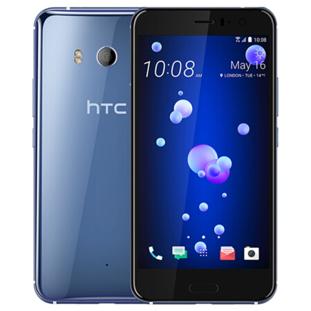 HTC U11 64GB ROM 4GB RAM Dual Sim Original Unlocked LTE Android 5.5 12MP&16MP Octa Core Snapdragon 835 NFC Fingerprint Type-C image