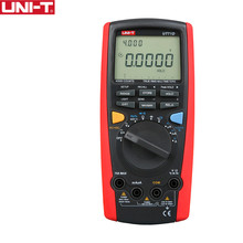 UNI-T UT71D Smart Multimeter Intelligent True RMS Digital Volt Amp Ohm Capacitance Meter Thermometer USB Interface PC Software(China)