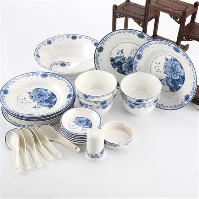 Wholesale Jingdezhen 28 Pieces Bone China Dinner Plates Bowl Tableware Ceramic Dinnerware Set  sc 1 st  AliExpress.com & Wholesale Jingdezhen 28 Pieces Bone China Dinner Plates Bowl ...