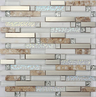 LSDD07 Mosaic Tiles Glass Mosaic Tiles Kitchen Backsplash Glass Moaic Tiles