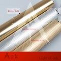 ARCA LUZ Dia 3 cm Ouro Escovado Alumínio cannular cor quente levou 3 w Lâmpada Pingente Forma de Cilindro TUBO LEVOU pendurado lâmpada barra de luz