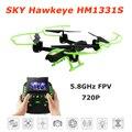 Céu Hawkeye 1331 S 5.8 GHz FPV em tempo Real posicionado altura 4CH 6 Axis Gyro RC Multicopter com uma chave de retorno RC Quadcopter RTF