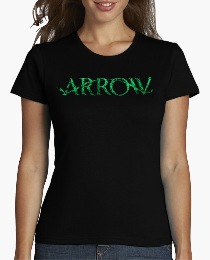 Spring Time limited t-shirt women s Arrow Logo Short Print Cotton hip hop  Hipster Tees 85ef90bf2f