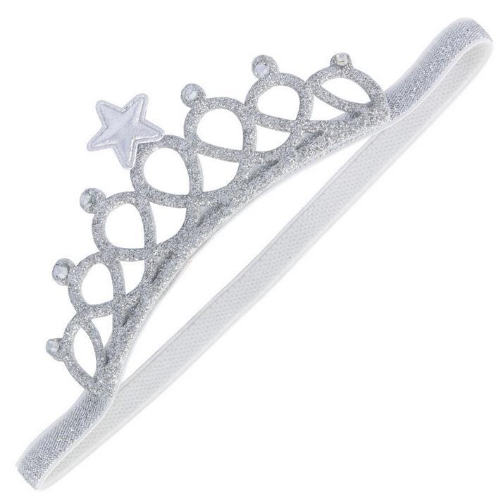 Glitter shiny party crown headband Tiaras baby girl crystal rhinstone star headwear kids toddler Children event festive gift