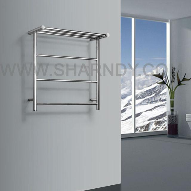 Sharndy estantes de ba o cuerpo de acero toalleros for Calentador de toallas electrico