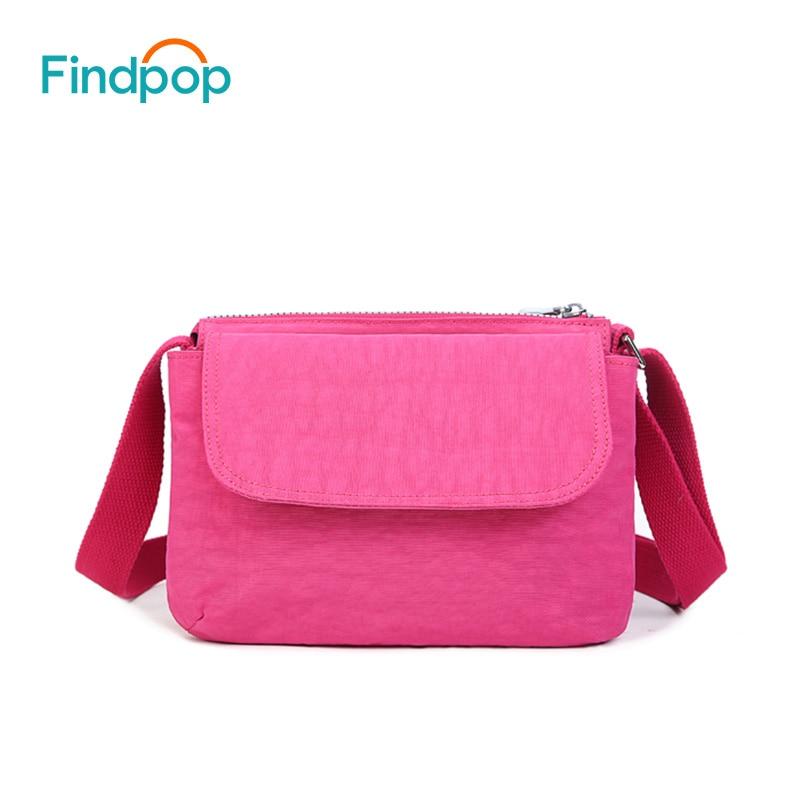 f9471f82d3 Findpop Brand Crossbody Bags For Women Shoulder Bags For 2018 Fashion Large  Capacity Waterproof Nylon Women Shoulder Bag 8 Color
