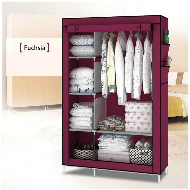 When-the-quarter-wardrobe-DIY-Non-woven-fold-Portable-Storage-Cabinet-1
