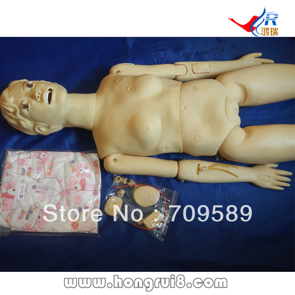 ISO Basic Female Nursing Manikin,  Patient Care Training dummy, female dummy economic basic patient care manikin female nursing manikin nursing mannequin