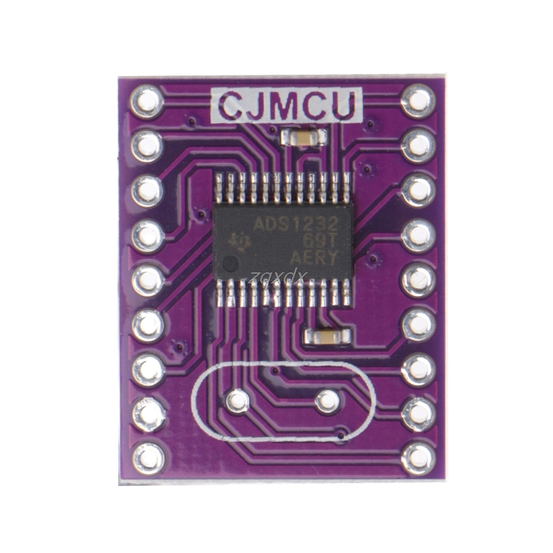 1 Pc CJMCU-1232 ADS1232 24 Bit Low Noise A/D Analog To Converter ADC Drop Ship