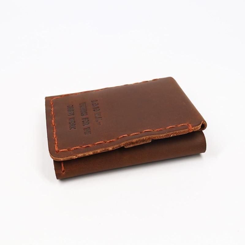 SIMLINE äkta läder plånbok män Det hemliga livet av Walter Mitty - Plånböcker - Foto 4