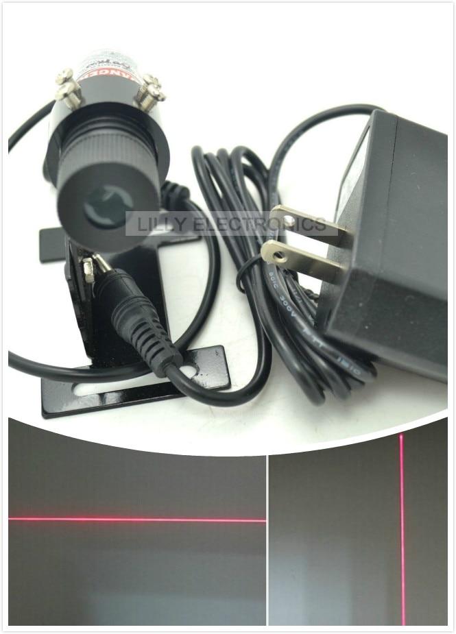 все цены на Industrial Red Laser Line Locator Module Focusable 650nm 100mW 22x70mm 5V DC w/US Plug and adjustable heatsink