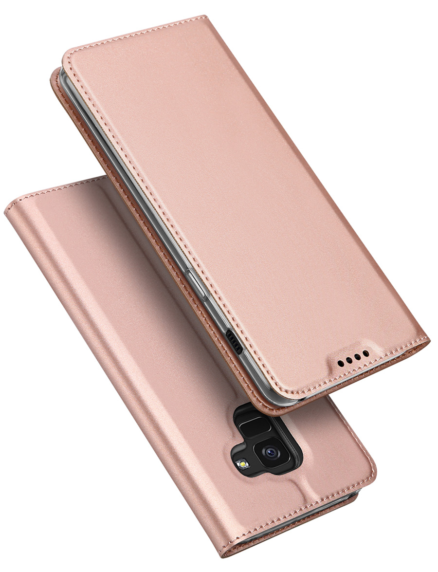 Original Case Cover For Samsung Galaxy A7 A8+ 2018 A730F 6.0 Inch Book Flip Leather Wallet A8 Plus Coque