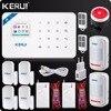 2017 Kerui W18 Wireless WIFI GSM IOS Android APP Control Home Security Burglar Alarm System Wireless