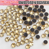 Bulk Packing All Size Hot Fix Iron On Hotfix Rhinestones Heat Transfer Design Jonquil
