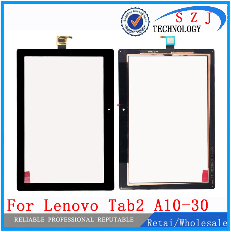 New 10.1 inch Touch screen For Lenovo TAB2 Tab 2 X30F A10-30 Front Touch panel Glass Tablet parts Free Shipping