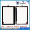"""Nuevo 10.1 """"pulgadas de pantalla táctil para lenovo tab2 tab 2 x30f a10-30 vidrio del panel frontal táctil tablet piezas envío gratis"""