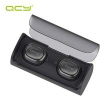 QCY Q29 iş bluetooth kulaklık kablosuz bluetooth kulaklık 3D stereo kulakiçi & güç bankası tüm telefonlar için Mic ile PC