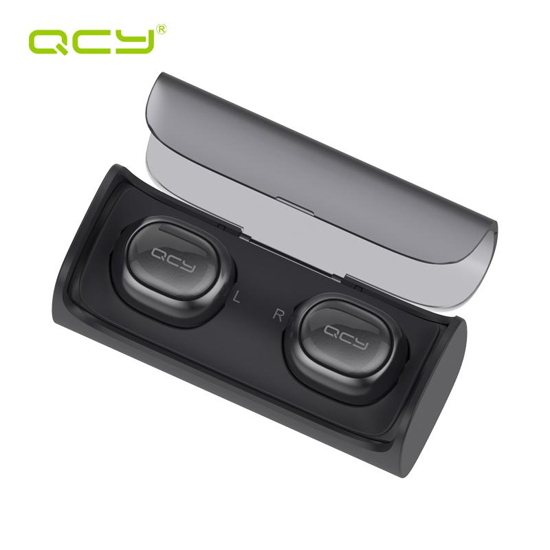Prix pour QCY Q29 d'affaires bluetooth écouteurs sans fil 3D stéréo casque et puissance banque pour iphone 7 samsung S8