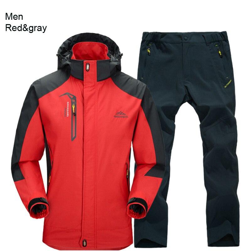 men red gray