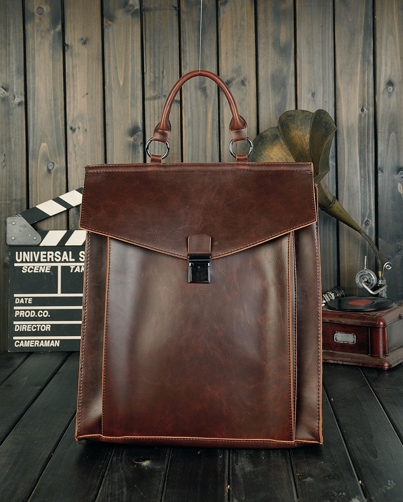 ФОТО COFFEE New Fashion Shoulder Bag Unisex Retro Vintage Travel Backpack Leisure Student Bags Korea Style Tote MB37