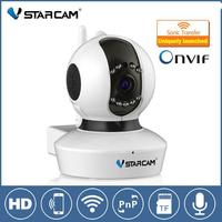 Vstarcam C7823WIP HD Home Wireless WiFi 720P IP Camera Onvif P2P Pan Tilt Micro SD Card