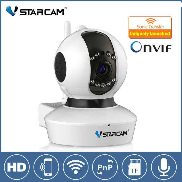 Vstarcam C7823WIP HD Home Wireless WiFi 720P IP Camera Onvif P2P Pan/Tilt Baby Monitor Support iPhone iOS / Android Security Cam цены онлайн