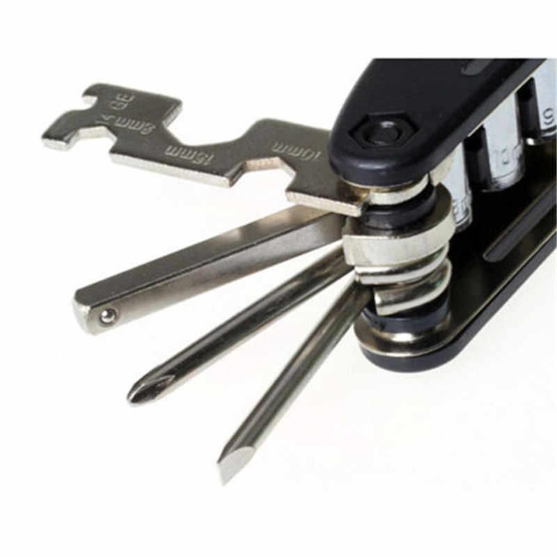 Многофункциональный 13 в 1 велосипеда набор инструментов дорога MTB горный велосипед Tool Kit велосипедных шин ремонт Наборы инструмент Велоспорт Мультитул оптовая продажа