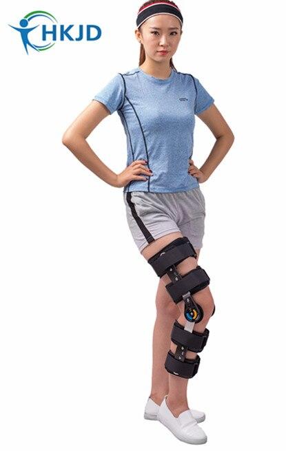 Orthopedic Knee Support Knee Brace Hinged ROM Knee Brace Rom Angle Adjustable Hinge Knee Support