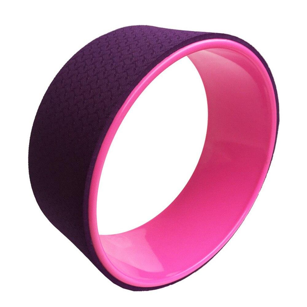 2018 New Yoga Balls Yoga Wheel ABS Pilates Magic Circle Ring Gym Workout Back Training Tool Home Slimming Fitness Equipment XNC