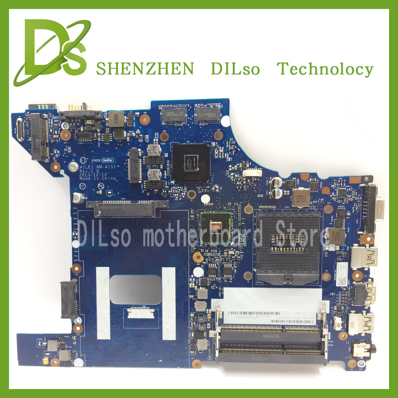 For Lenovo AILE1 NM-A151  E440 laptop motherboard for Lenovo ThinkPad Edge E440 mainboard rev1.0  100% tested  free shipping laptop motherboard for toshiba a205 a200 v000108040 integrated ddr2 mainboard full tested free shipping