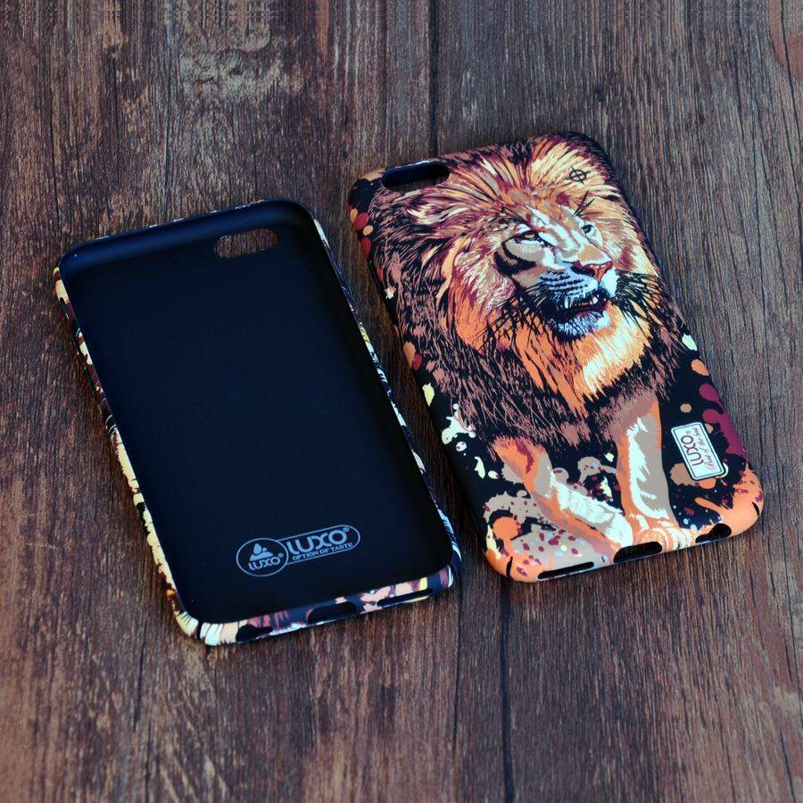 Ultra Thin Back Cover for iPhone 6 6S 7 8 Plus Hard Smooth Case Fashion Animals Wolf Tiger Lion Eagle ParrotUltra Thin Back Cover for iPhone 6 6S 7 8 Plus Hard Smooth Case Fashion Animals Wolf Tiger Lion Eagle Parrot