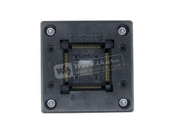 QFP80 TQFP80 LQFP80 PQFP80 OTQ-80-0.5-02 QFP IC prise de rodage Enplas pas de 0.5mmQFP80 TQFP80 LQFP80 PQFP80 OTQ-80-0.5-02 QFP IC prise de rodage Enplas pas de 0.5mm