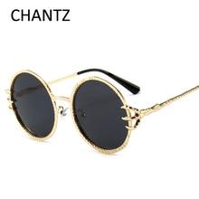 Модные круглые солнцезащитные очки поляризованные Для женщин ретро металл очки аксессуары вождения очки женские UV400 gafas-де-сол Mujer 3745