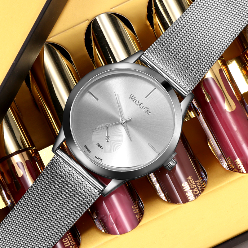 Fashion Women Rose Gold Flower Rhinestone Wrist Watches Luxury Casual Female Quartz Watch Clock Relogio Feminino Women Watch  2