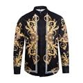 2017 Новый стиль осенняя мода рубашка мужчины Творческий солнце Медузы Печати 3D Длинными рукавами футболки Harajuku Бренд clothing Бесплатная доставка