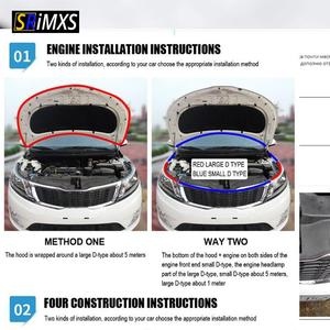 Image 5 - Car Door Seal Strips Small D Shape Weatherstrip Rubber Seals Sound Insulation Sealing Strip for Toyota Automobiles Accessories