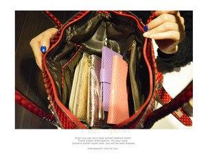 Image 5 - Luxury fashion diamonds Women handbags leather female dumplings shoulder slung bag rhinestone drill lock messenger crossbody bag