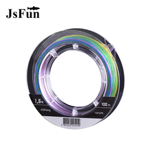 8 Strands Braided Fishing Line 100m Multicolor PE Braid Line Rope Linha Multifilamento Para Pesca 8 Fio Tresse Peche Misina L146