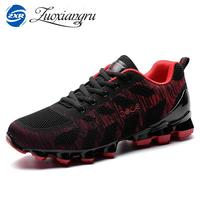 Zuoxiangru Men S Running Shoes Women Sports Sneakers Light Walking Shoes Breathable Mesh Vamp Anti Skid