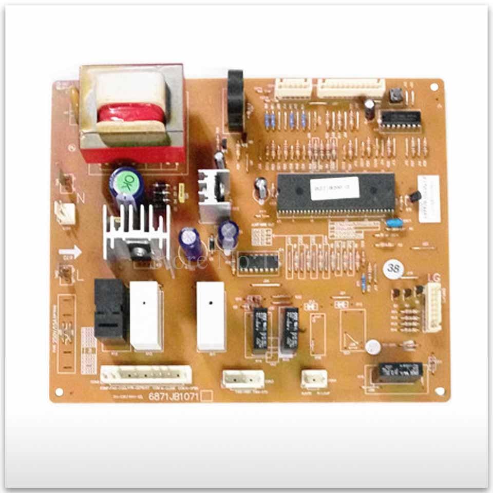 95% new for LG refrigerator computer board circuit board GR-B207 6871JB1071 6870JB2031B wire universal board computer board six lines 0040400256 0040400257 used disassemble