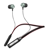 ZAPET BH1 IPX5 Water Resistant Sport Wireless Headphone Neckband Bluetooth Earphones Built In Mic For Phone